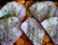 Uzené maso pečené v mrkvi