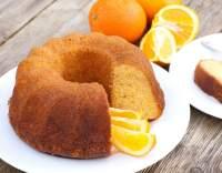 Bábovka s pomerančovou příchutí