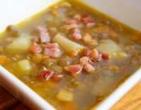 Slezská čočková polévka
