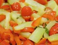 Cuketa dušená se zeleninou