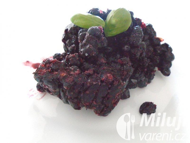 Mražené borůvky slazené cukrem