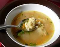 Polévka s vaječnou jíškou