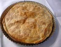 Velikonoční koláč z listového těsta