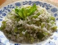 Rizoto s řapíkatým celerem