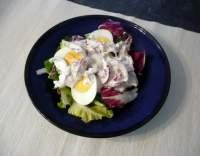 Velikonoční vaječný salát s křenovou zálivkou