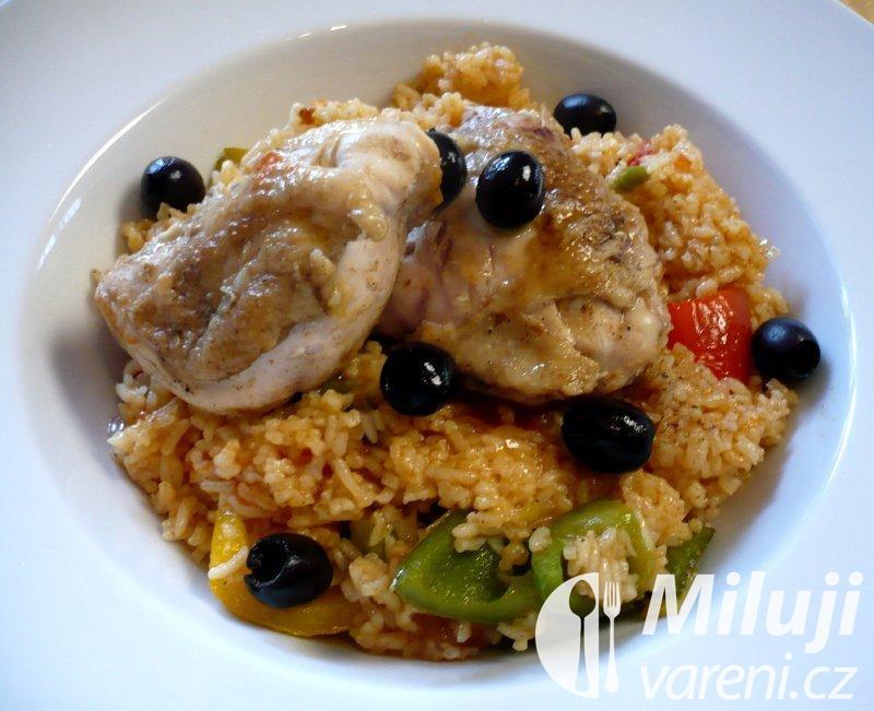 Louisianské kuře s rýží
