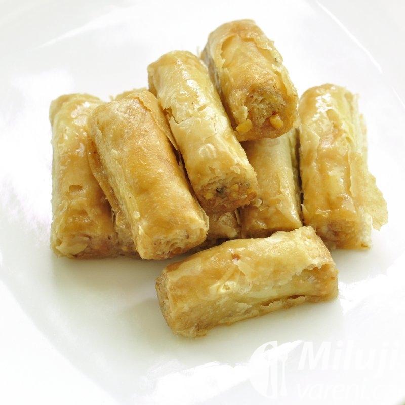 Baklava z listového těsta
