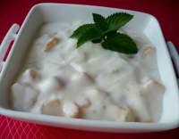 Jogurt s broskví a medem