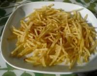 Smažená bramborová sláma