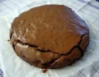 Čokoládový dort s kaštanovým pyré