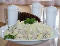 Lehký salát z brambor