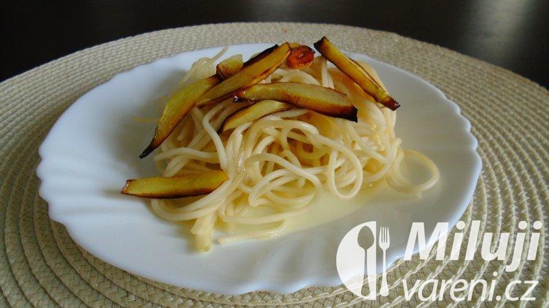 Špagety s cuketami