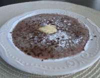 Krupicová kaše s čokoládou
