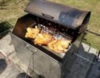 Marinované kuře na rožni