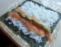 Lososové sushi