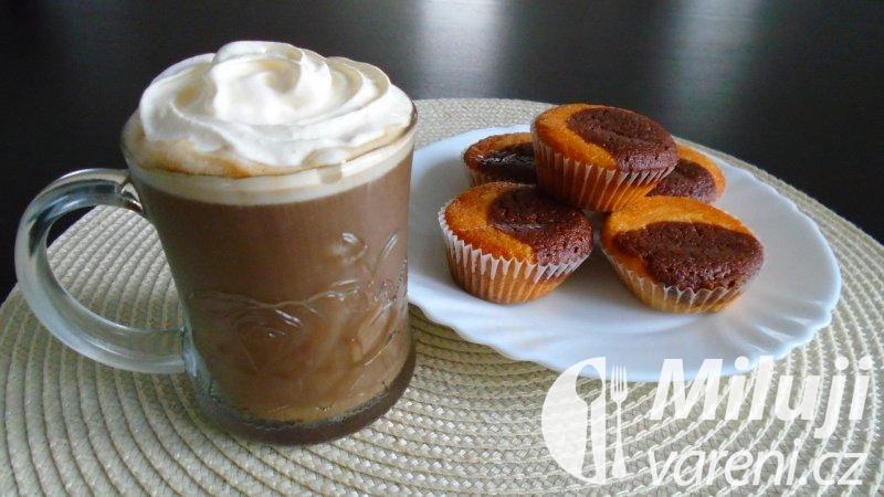 Mražená vanilková káva