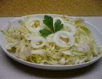 Srbský zelný salát