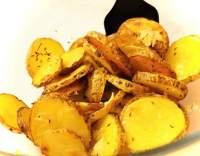 Pečené brambory s česnekem