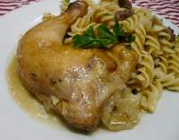 Kuře pečené na způsob bažanta