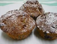 Borůvkové muffiny s rumem