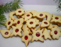 Křehké těsto na vánoční cukroví