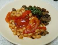 Chilli fazole s mletým masem