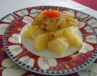 Kuřecí prsa se slaninou v bramboráku