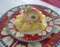 Kuřecí řízky v bramborovém těstíčku