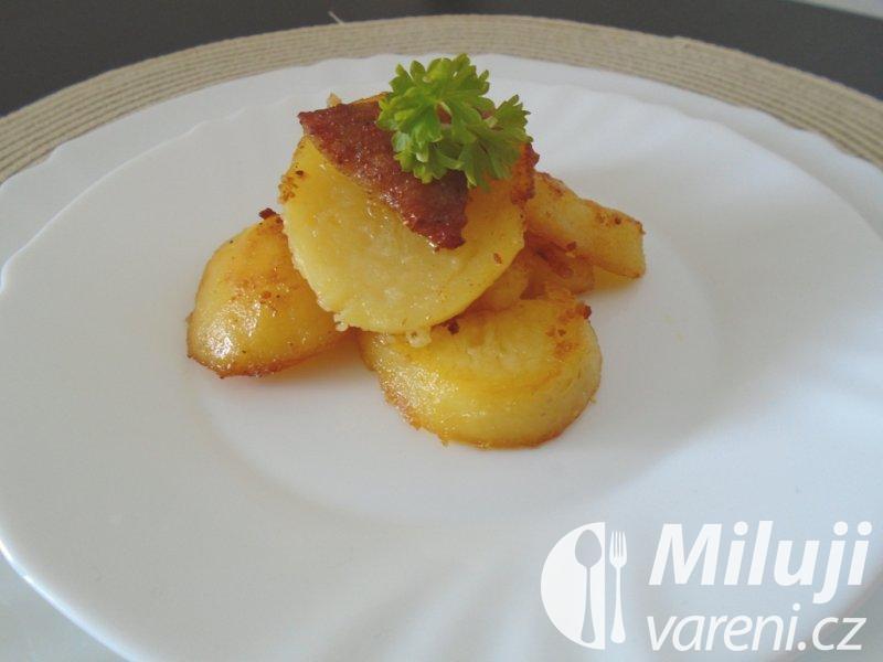 Opékané vařené brambory
