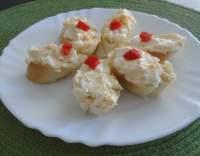 Pomazánka z taveného sýru a vajec