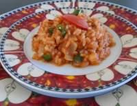 Dušená zeleninová rýže