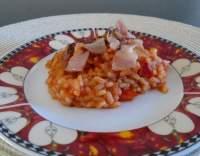 Charlestonská rýže s rajčaty