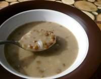 Čočková polévka s mlékem