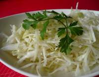 Salát ze syrového zelí