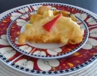 Smažený sýr ve vaječném obalu