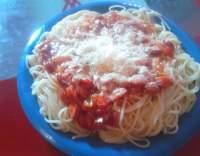 Špagety se šmakounem