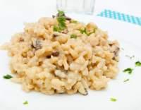 Hříbkové rizoto s parmezánem
