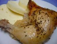 Kuře na zelí