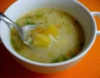 Zeleninová polévka z brambor