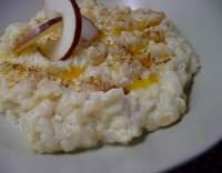 Rýžová kaše s jablky