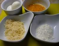 Smažená vejce v sýrovém obalu