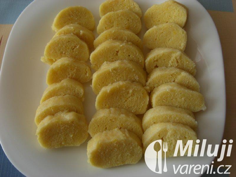 Bramborovo - krupicové knedlíky