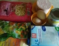 Zapečené těstoviny se zeleninou a žampióny