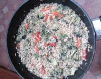 Bulgur s brokolicí