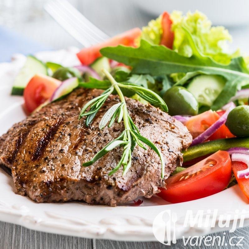 Bifteky na roštu