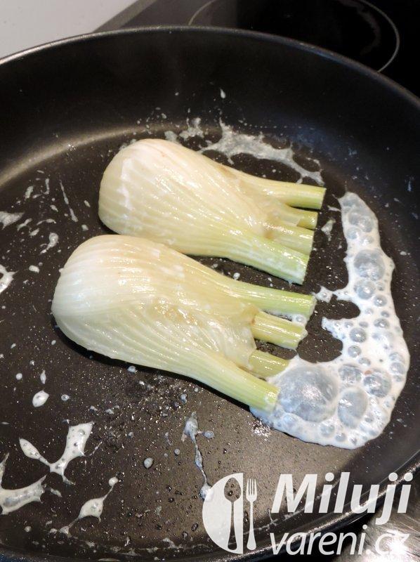 Fenykl pečený se sýrem