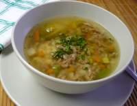 Polévka hovězí rychlá (blesková)