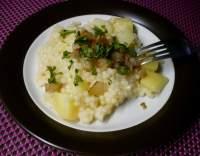 Tarhoňa s bramborami