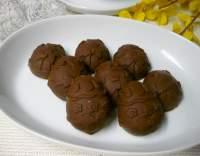 Čokoládové pralinky s oříšky