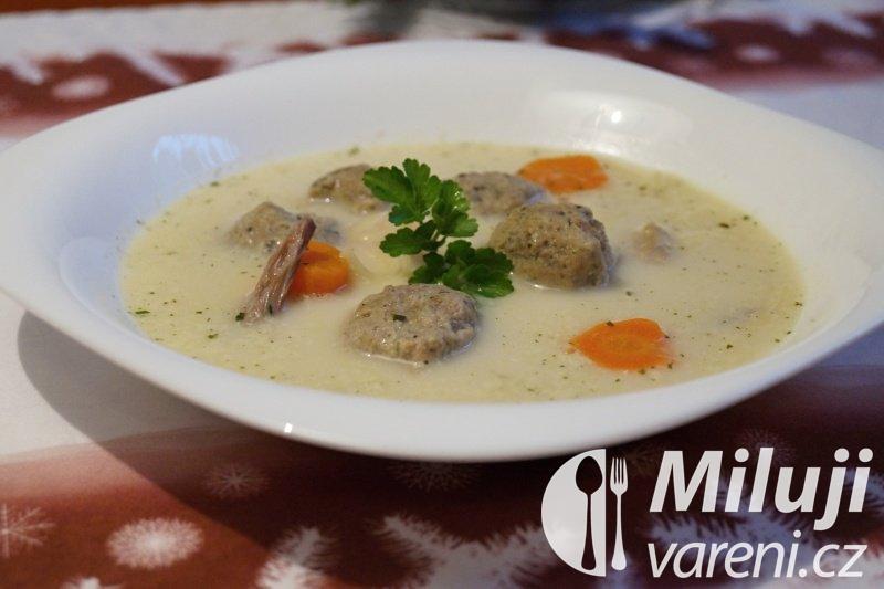 Kachní kaldoun - polévka